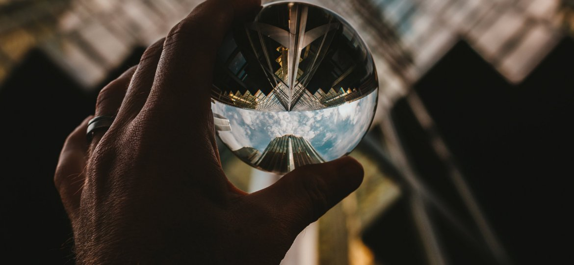 lens-ball-glass-building-lookup